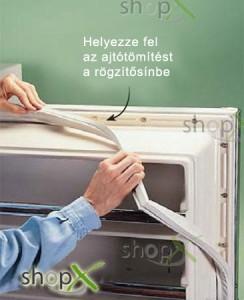 Hűtő ajtótömítés cseréje