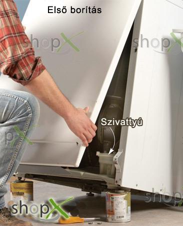 Bosch mosogatógép nem engedi le a vizet