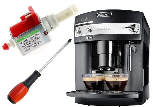 Kávéautomata szivattyú cseréje