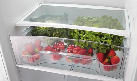 Hűtőgép zöldségtartó