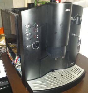 AEG CaFamosa kávéfőzés