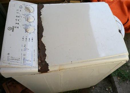 Indesit felültöltős mosógép ajtó csere