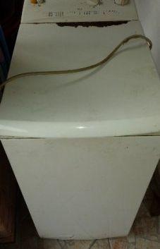 Zanussi felültöltős mosógép ajtó csere